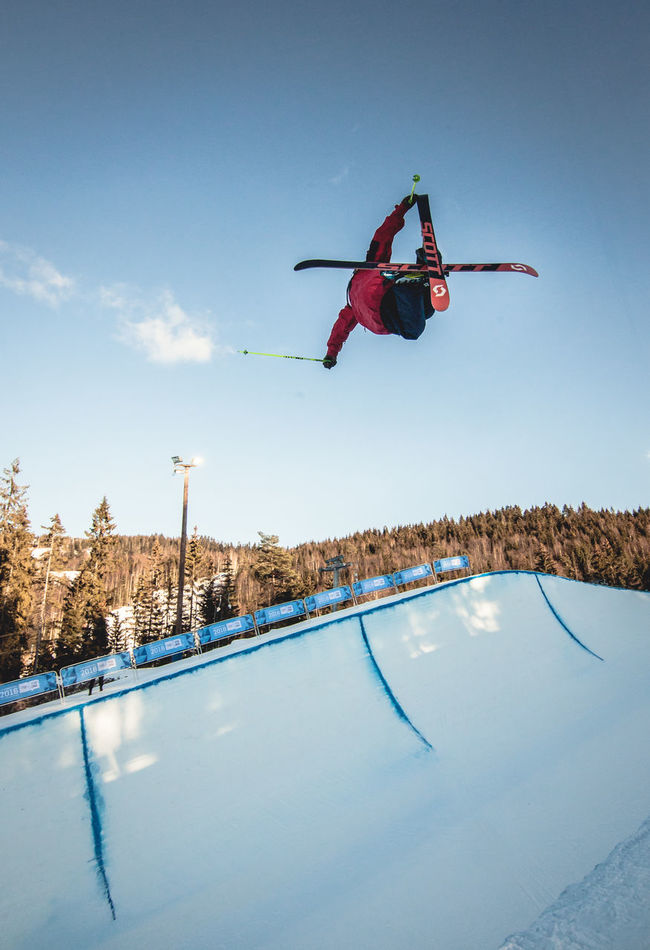 Cloud Cloud - Sky Day Freestyle Halfpipe Kids Lillehammer2016 Olympics Oslo, Norway Outdoors Sky Snow Sundayisfunday Winter WinterOlympics Yo Youth Of Today