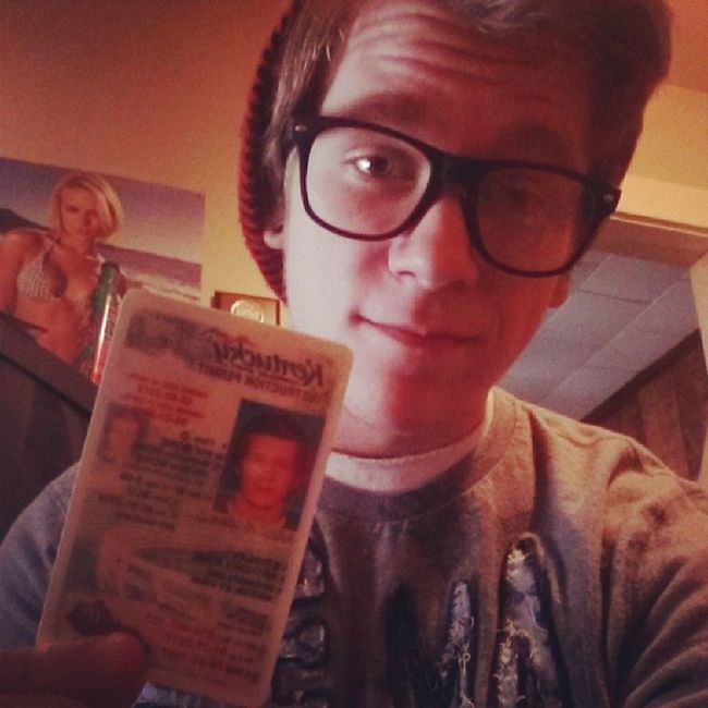 Took me long enough but I finally got it lol. Permit Driverr Beanie Glasses
