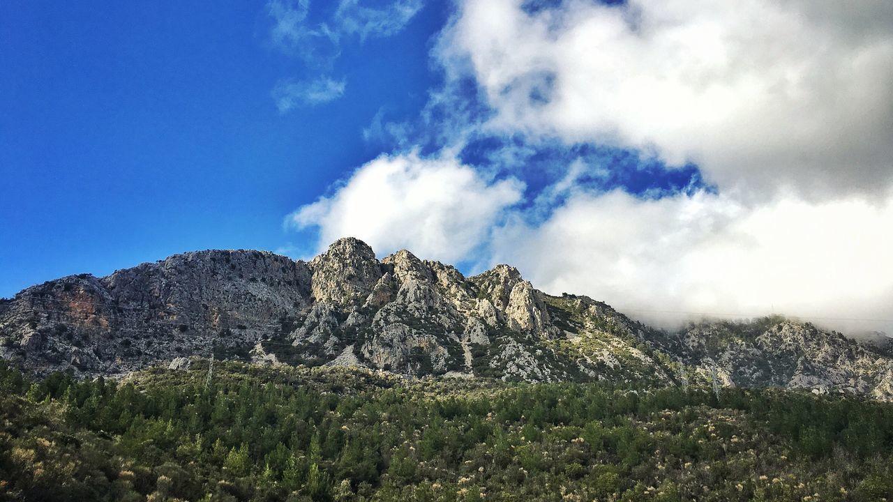 Mountain Sky Cloud - Sky Outdoors Day Blue Antalya Kumlucaolimpos