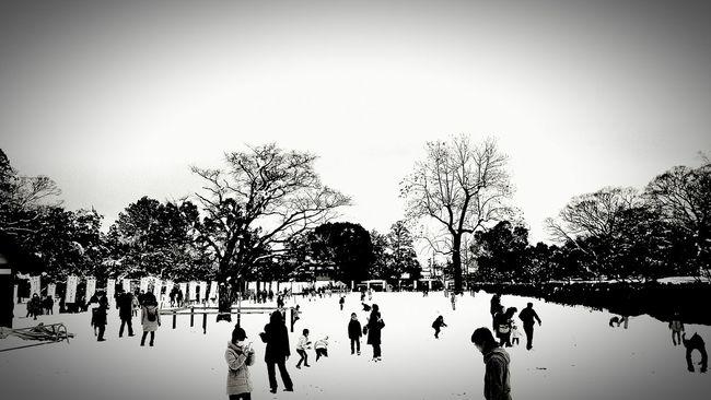 [15.01.02] 人々 上賀茂神社 Monochrome Black And White Kamigamo Black & White Kyoto Japan Shrine People