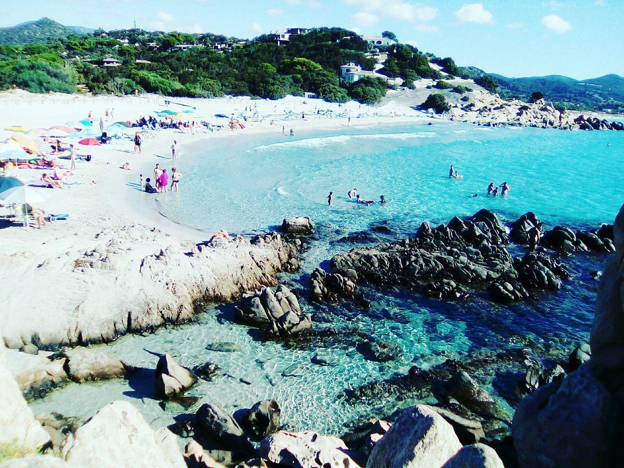 Spiaggia di Villasimius Sardegnaofficial Sardegna Sardinia Sardegna Italy  Sardinia Mare Estate2016 Cerdeña Beach Water Nature Ferragosto Verano Mar Summer Acquacristallina Relax Mare ❤ Amazing Playa Paradise Paraíso First Eyeem Photo Miles Away Miles Away EyeEmNewHere