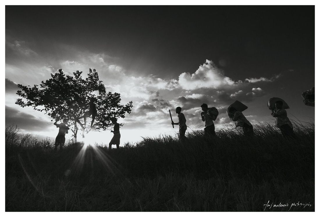 Masaganang Ani Silhouette Black And White Eyeem Philippines Eye Em Best Shots