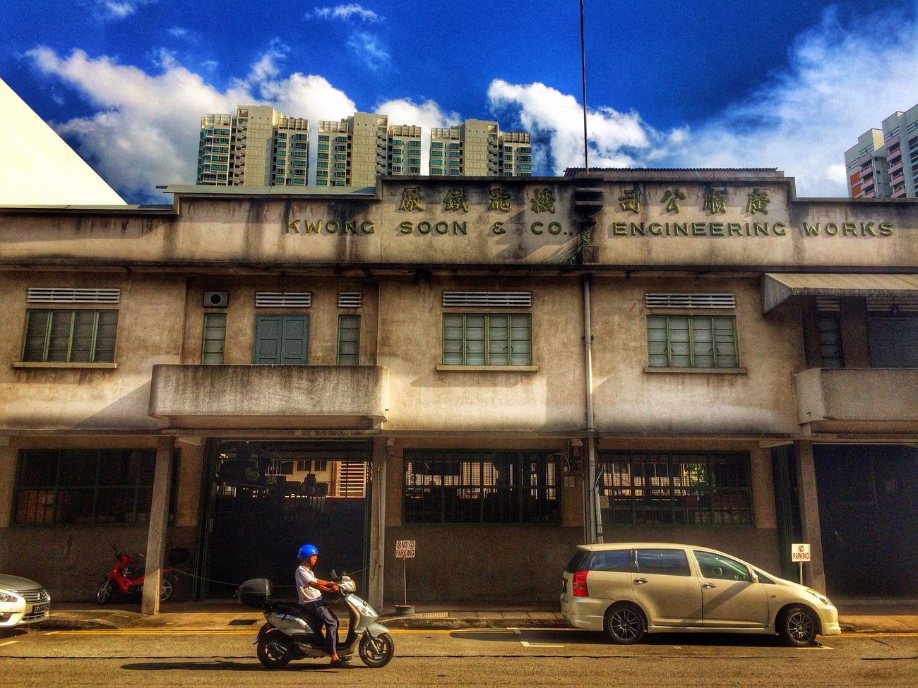 Streetphotography Architecture Everyday Lives Clouds And Sky