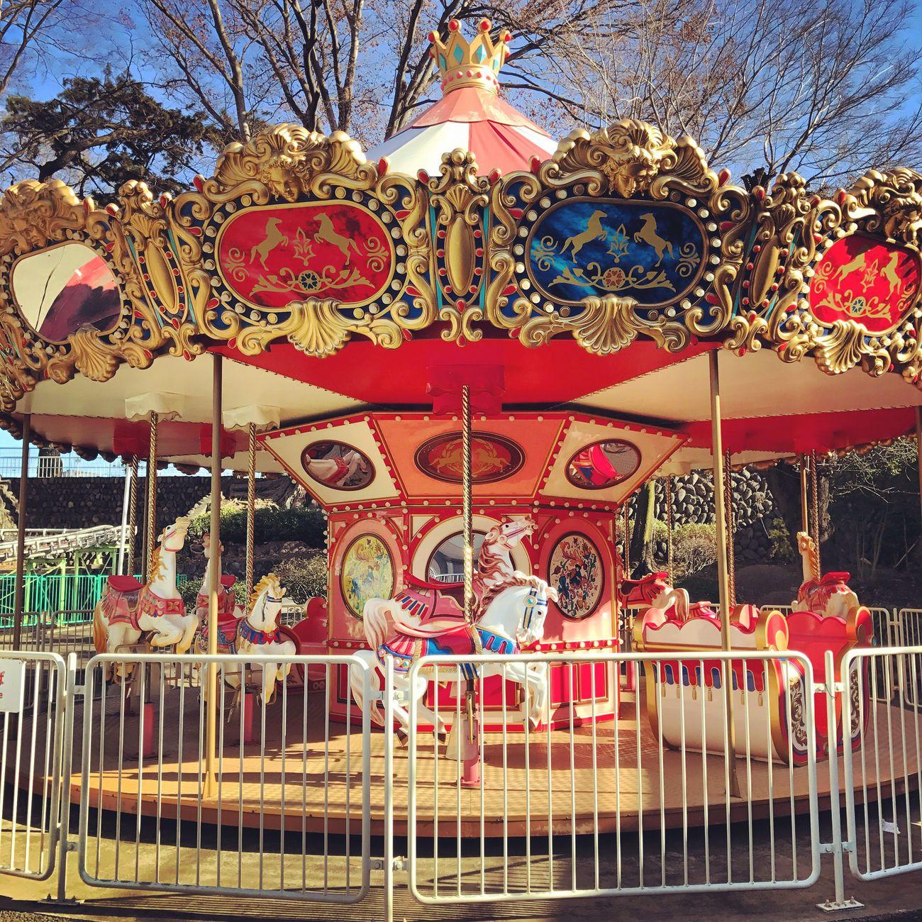群馬 Walk Amusement Park Merry Go Round