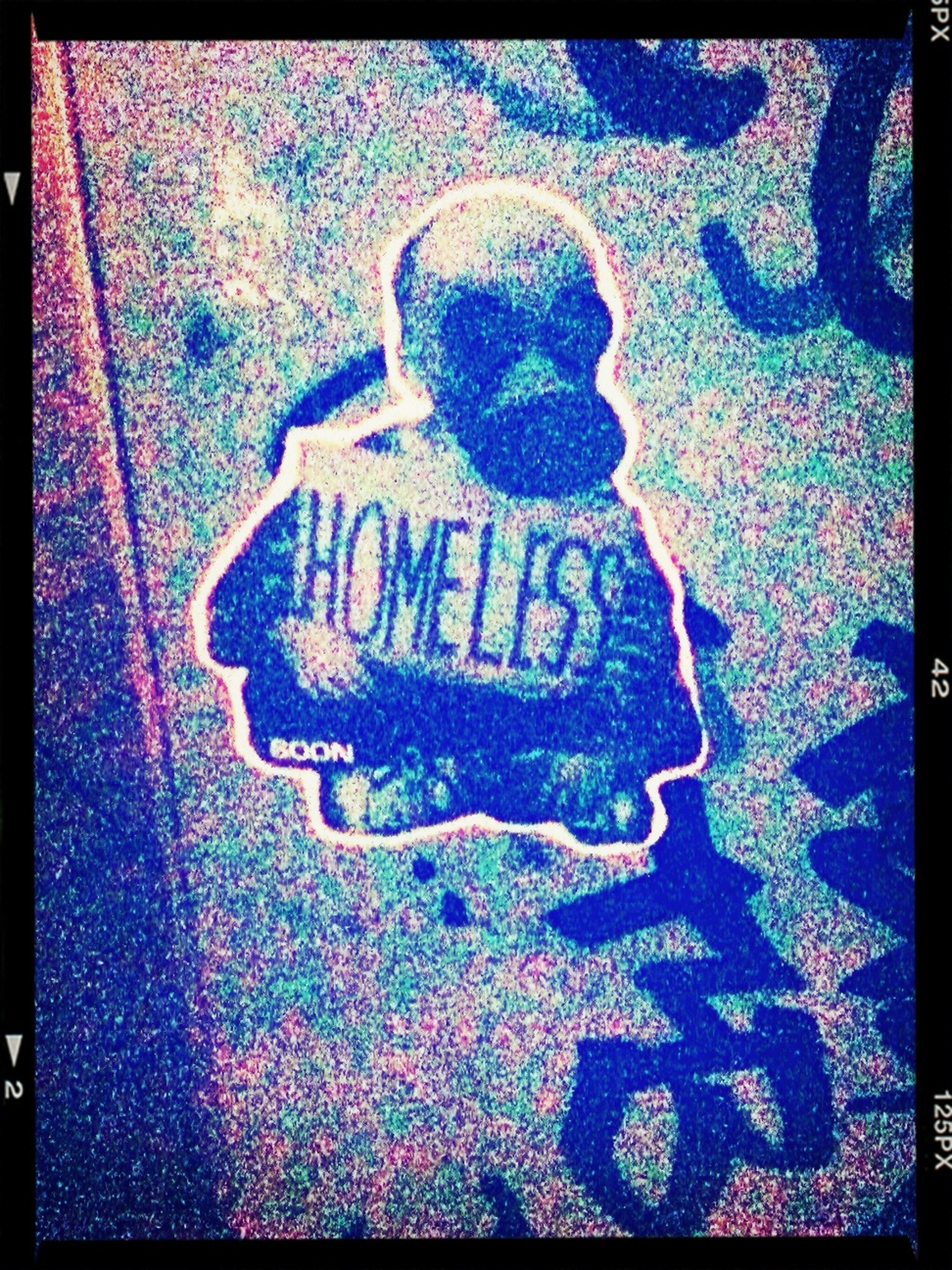 ‼️ Homeless ‼️   Sticker / Stickerart / Streetart / Berlin Streetart / Street Art @ Treptow Ringcenter