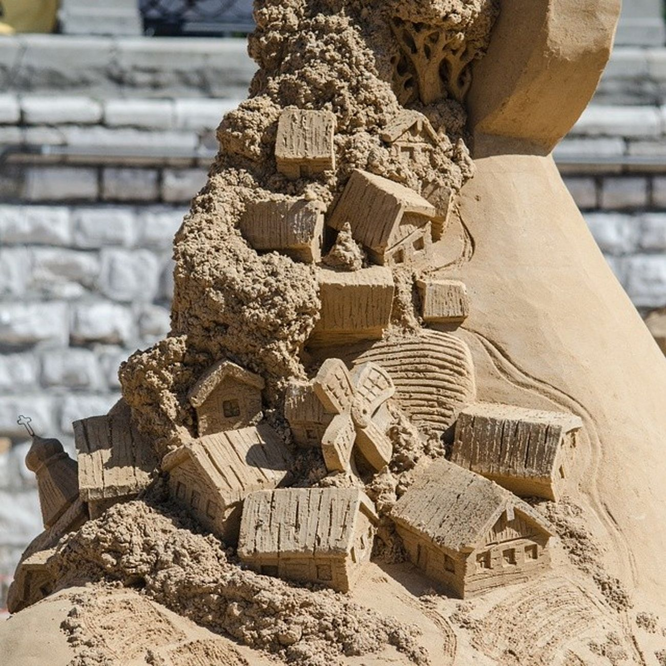 чудесасвета песчаныефигуры набережная Самара сегодня будет день песчаных фигур. =)