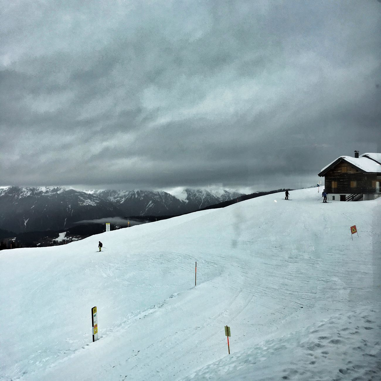 Austria Montafon Schruns Winter Snow Cold Temperature Weather Mountain Nature Scenics Mountain Range Outdoors Beauty In Nature Tranquility Sky Cloud - Sky Landscape Tranquil Scene Ski Holiday Day Frozen Built Structure