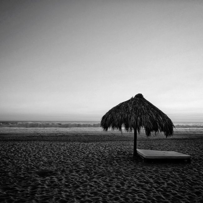 Relaxing Enjoying Life Blackandwhite Monochrome Beach Black & White Blackandwhite Photography Black And White Sand