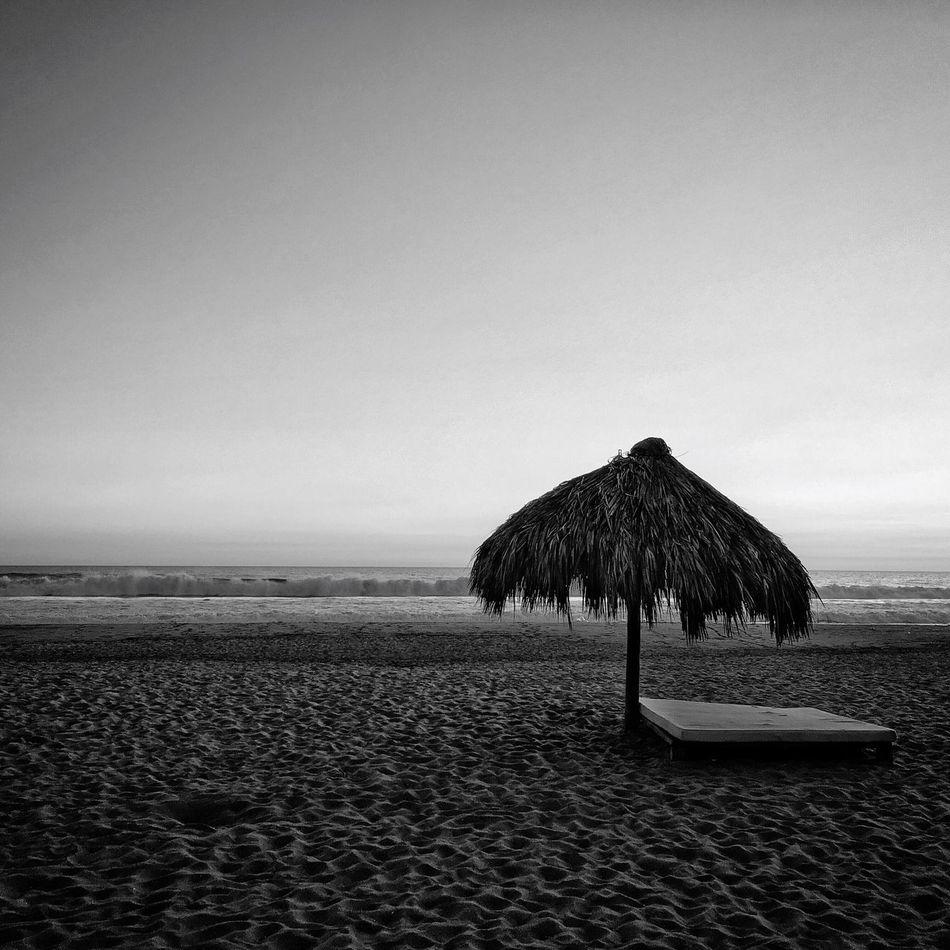 Relaxing Enjoying Life Blackandwhite Monochrome Beach Black & White Blackandwhite Photography Black And White Sand