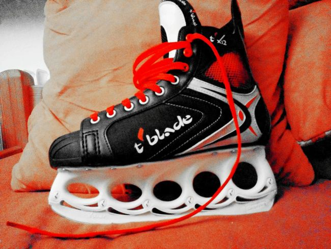 Tblade Eisfreestyle Tx12 Rote schnürsenkel*.*