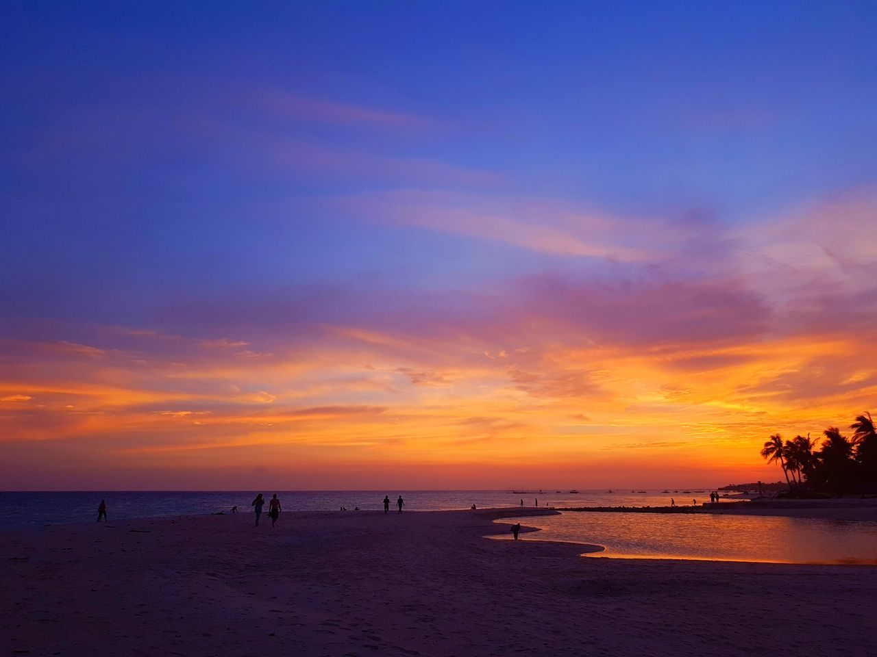 One of Bantayan Island's amazing feature is the wonderful sunset. Beach Beauty In Nature Dusk Holiday Horizon Horizon Over Water Landscape Nature Orange Sky Outdoors Samsung Galaxy S7 Sand Scenics Sea Silhouette Sky Summer Sunset Sunsetbythesea🌅 Tourism Tranquil Scene Tranquility Travel Destinations Vacations Water