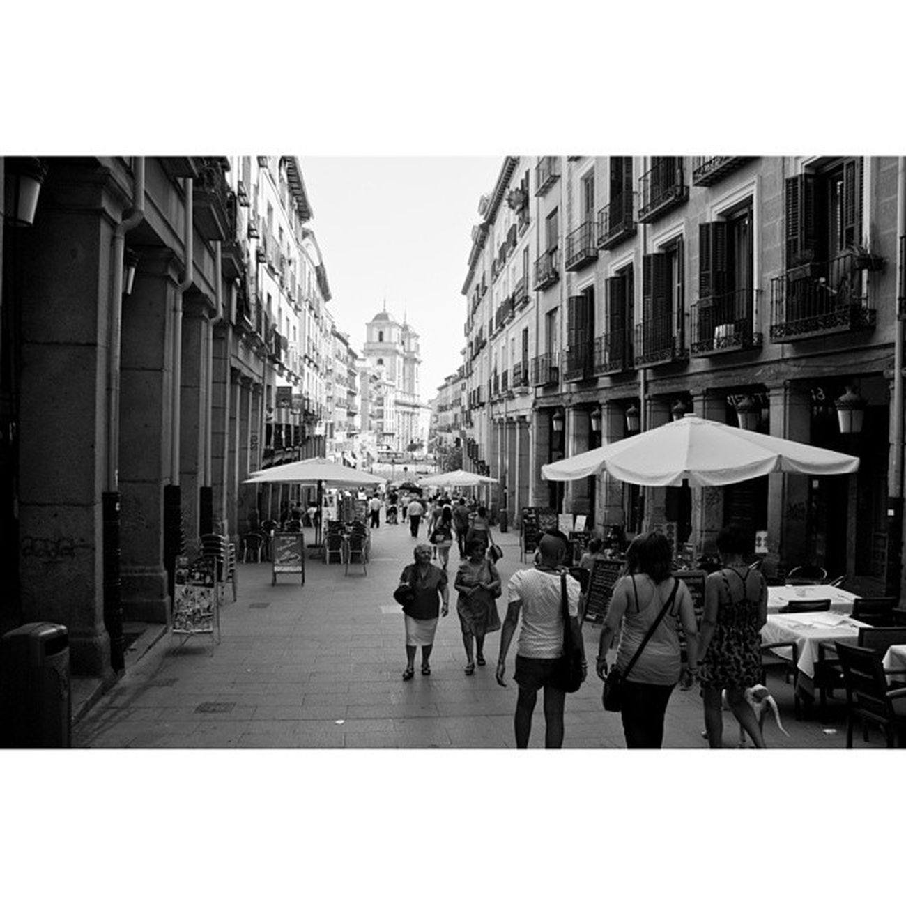 Calletoledo Calle Toledo near Plaza mayor plazamayor plaza_mayor. Madrid Spain españa. Taken by my sonyalpha dslr a200. Taken in my 2010 trip حي مدريد اسبانيا