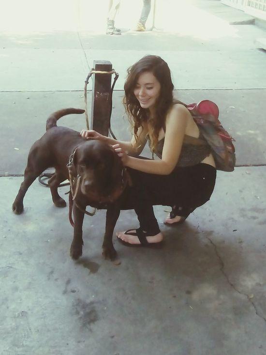 Hippie ✌ Hippielife Hippies Hippielove Animals EyeEm Nature Lover Dog Love Loveanimals Dalí Beautiful Girl