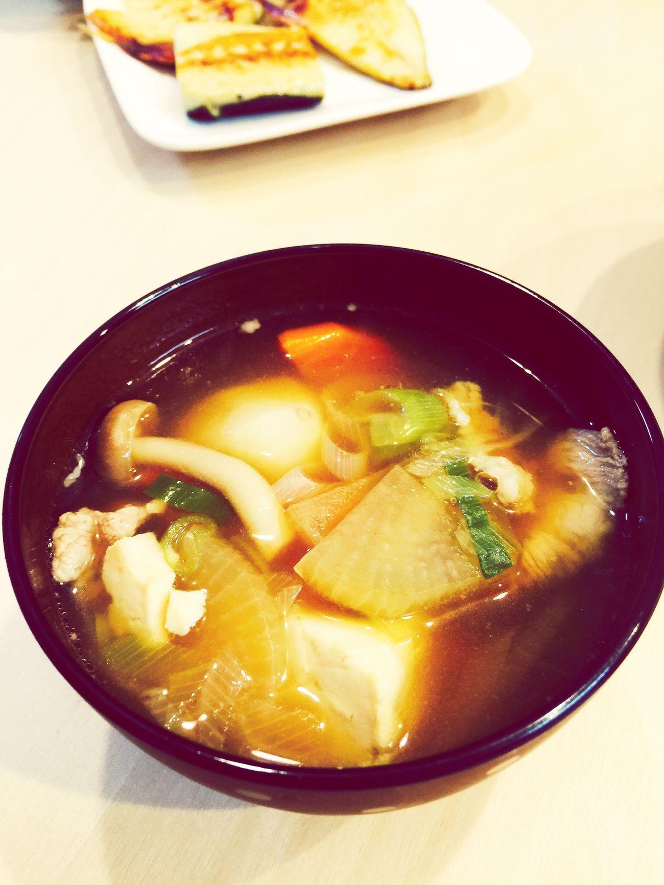 芋の子汁 Food Japanese Food Soup Japaneasesoup Iphonephotography