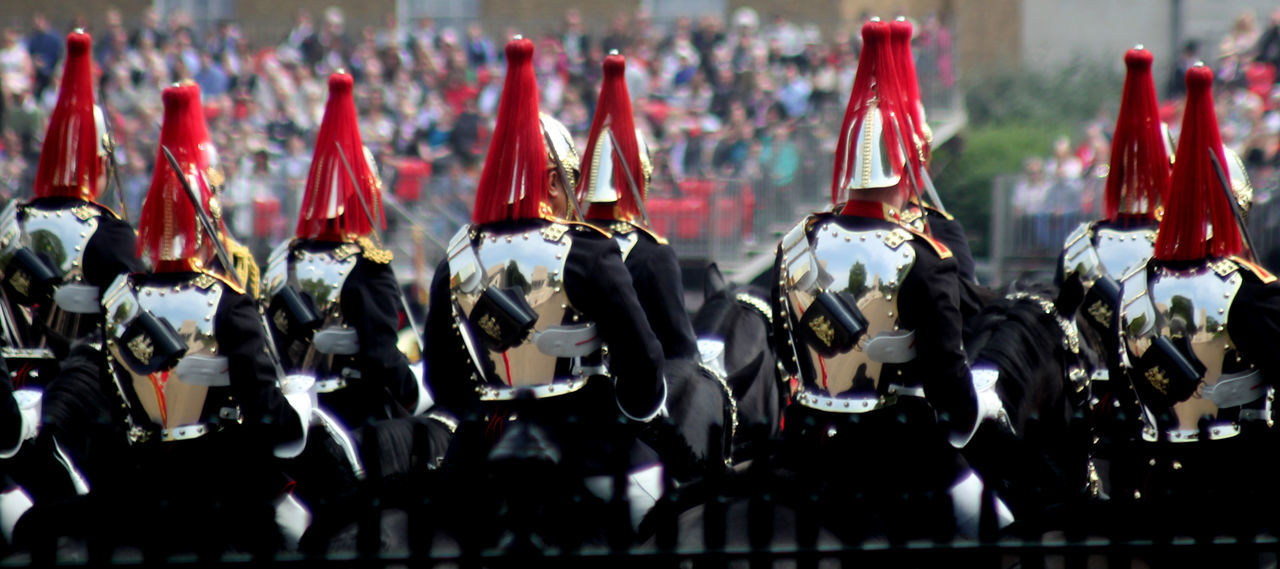 Trooping of The Colour London England Army Cavalry Close-up Day England Horseguards Parade Hoursegua Household Cavalry In A Row London Military No People Outdoors Tourism Trooping Of The Colou Trooping The Colour