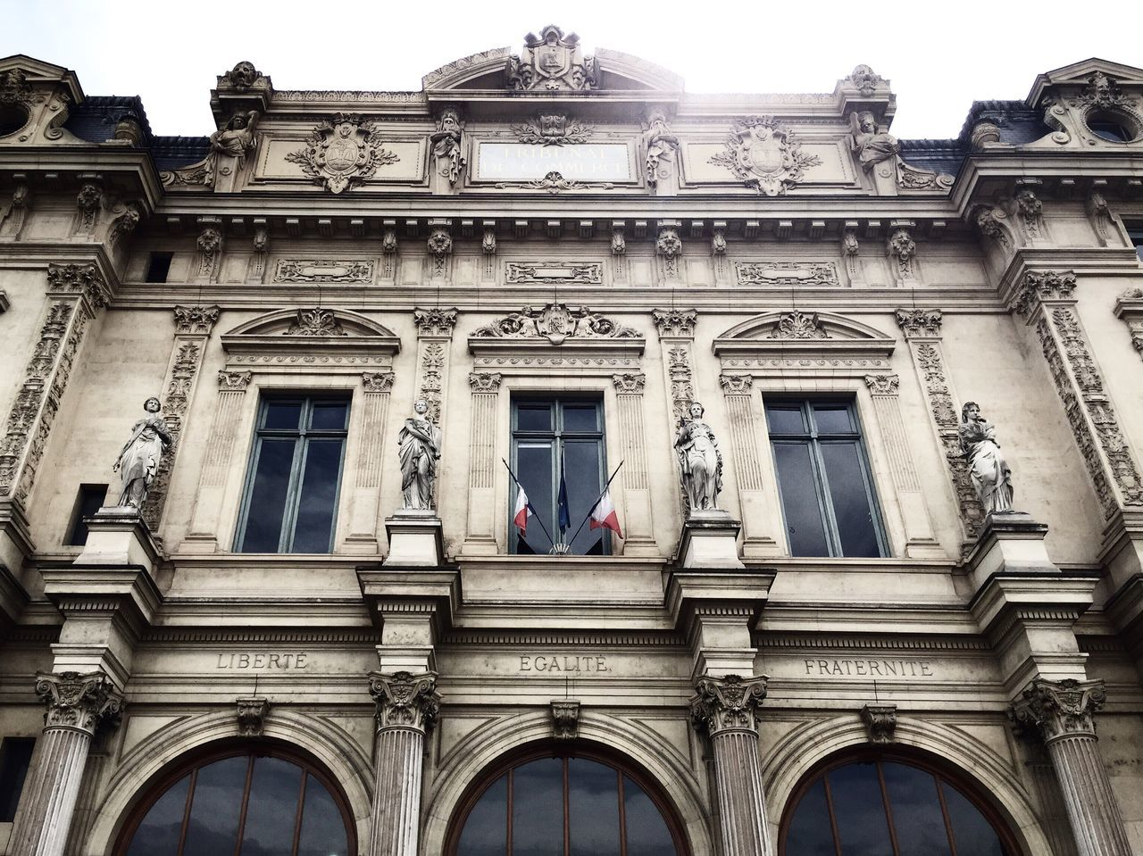 Paris VSCO Architecture Building Exterior Window Built Structure Façade Architectural Feature Vscocam Vscogood Architectural Column Photography Low Angle View Historic History Outdoors In Front Of No People