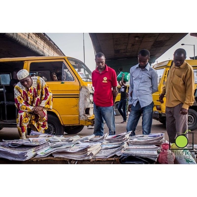 Good morning. Have you visited your local Newsstand today? From my ongoing project on Lagos Newsstands. Lagoslife Thisislagos InstaLagos lookslikelagos streetphotography