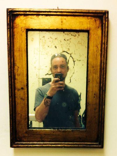 Mirror Vintage Self Portrait Selfie ✌ Old