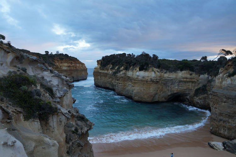 Australia The Great Ocean Road Beach Beauty In Nature Cliff Day Nature No People Outdoors Rock Formation Scenics Sea Sky Water