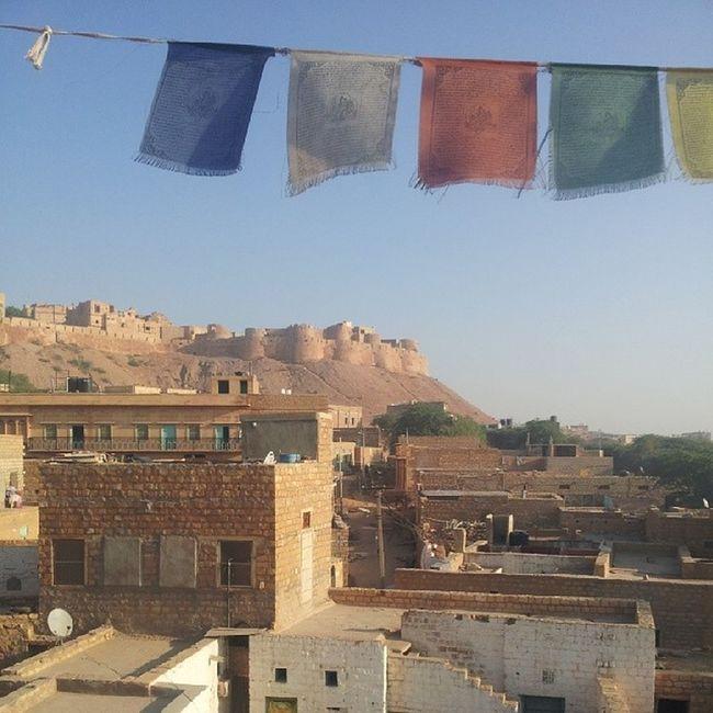 Breakfast in the Golden city, Jaisalmer Incredibleindia Jundgarthfort