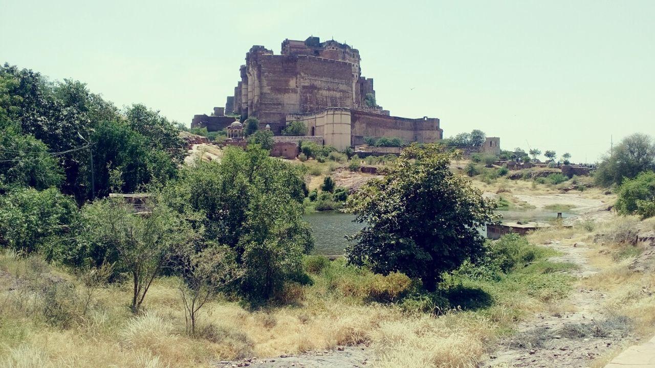 Showcase: November Rajasthan Beauty Mehrangarh Jodhpur Side View River Greentrees Art Palace