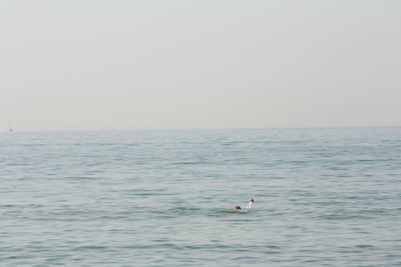 Rückenschwimmen Baltic Sea Day Graal-Müritz Health Horizon Over Water Meditation Nature One Person Ostsee Outdoors Paradise Scenics Sea Sky Swimming Tranquil Scene Tranquility Water Waterfront Minimalism Beach Live For The Story Vacations Weekend Activities Lifestyles