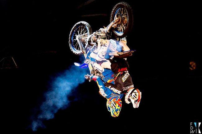 FMX Fise Rider Motocross Arena Montpellier Español Backflip Fidiwik