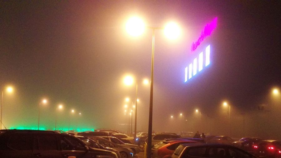 Ufa Fog Parking Spring Relaxing Mall Mall Planet HTC_photography HTCOneM9 Bashkortostan Russia Ufacity No People The City Light Millennial Pink The Great Outdoors - 2017 EyeEm Awards The Street Photographer - 2017 EyeEm Awards
