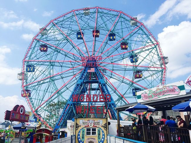 Coney Island / Brooklyn NY Coney Island Brooklyn Wonder Wheel IPhoneography Iphone6plus