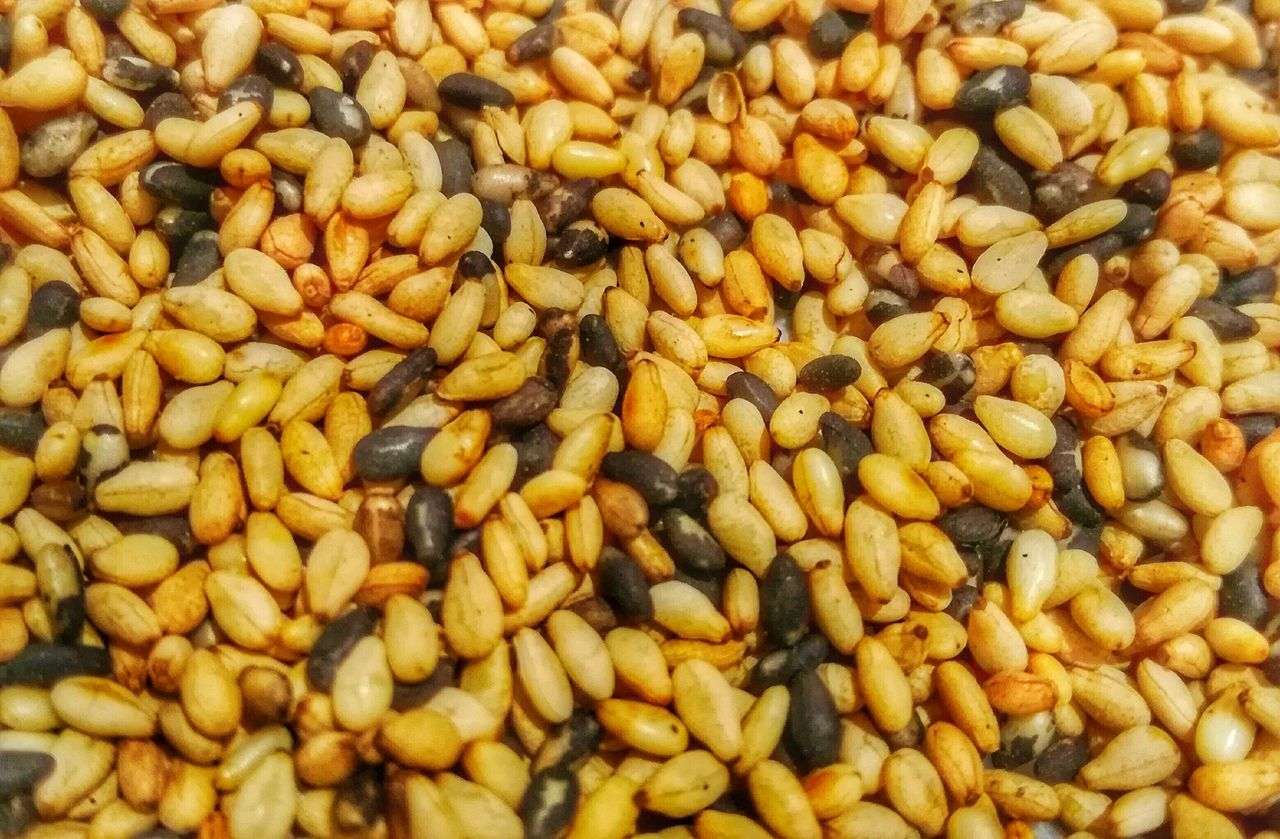 Full Frame Food Backgrounds Close-up Large Group Of Objects SesameSeed Seeds Seeds Photography Sesame Healthy Eating Huaweiphotography P9LitePhilippines Mobilephotography P9lite EyeEmNewHere