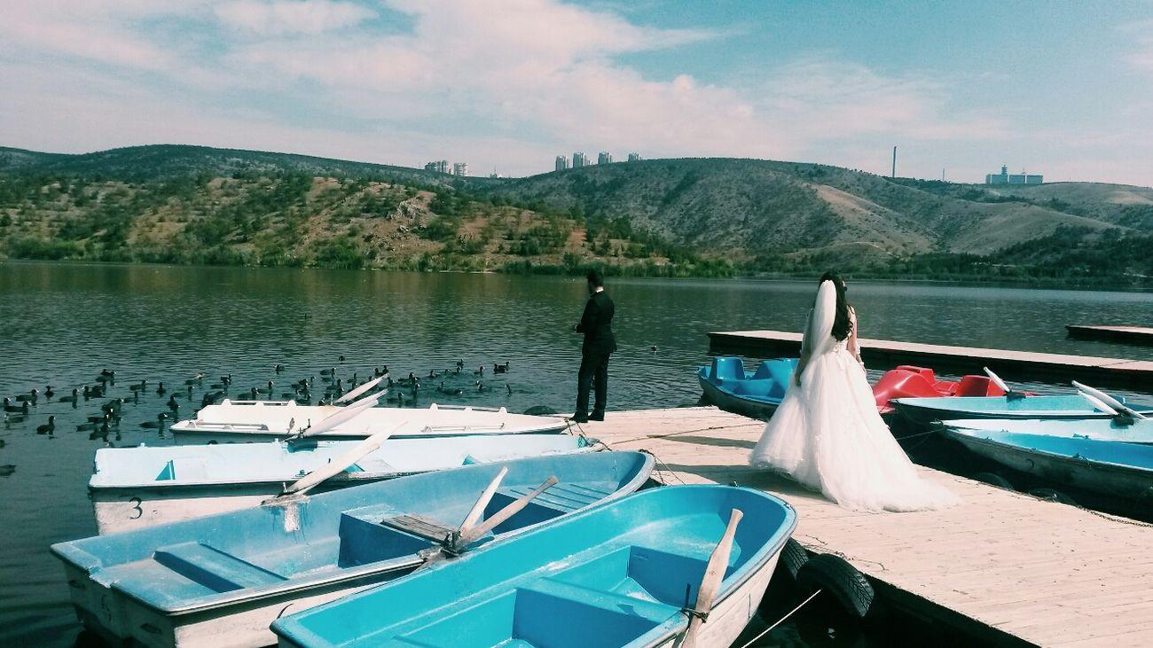 Bride VSCO Nature Wedding