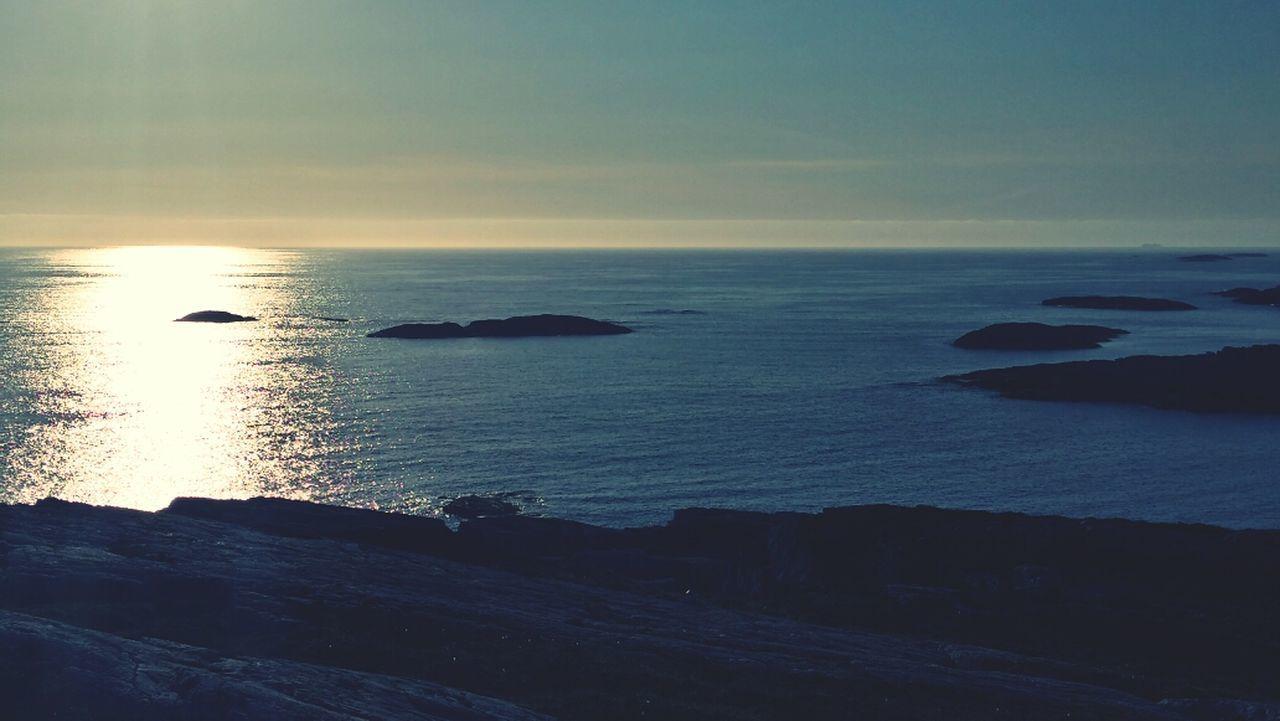 Sea Enjoying The Calmness