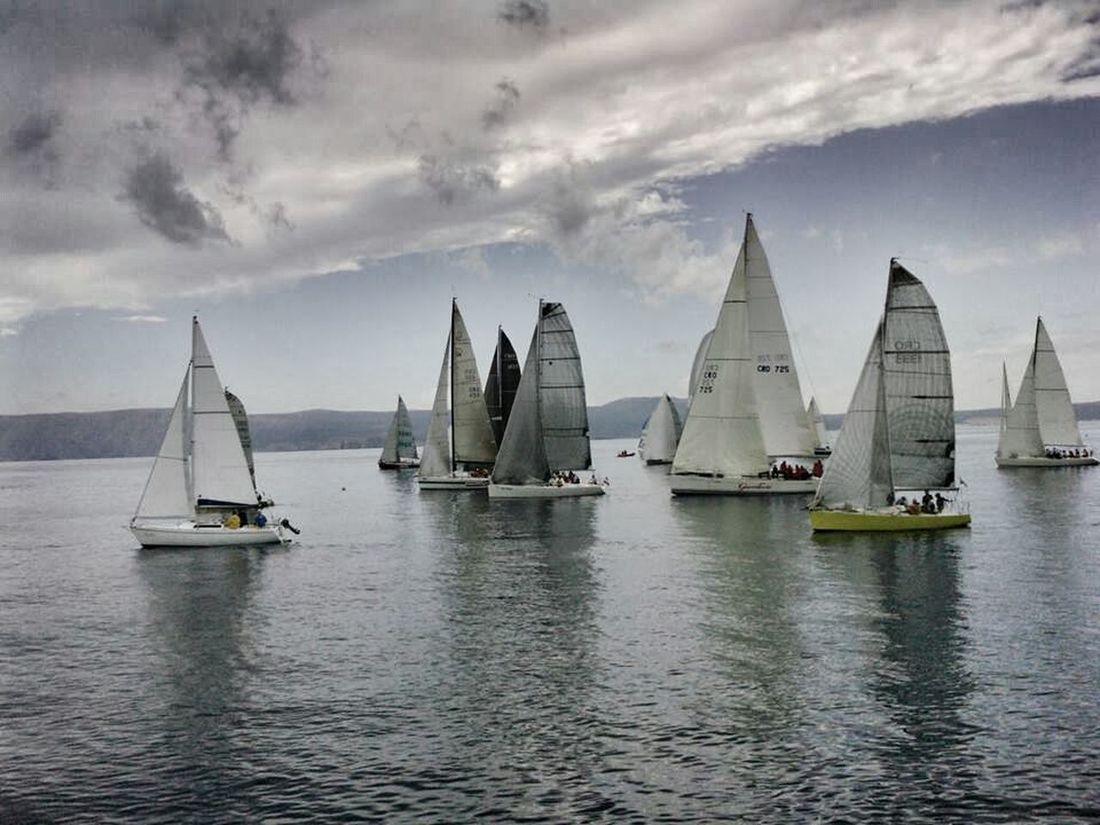 Sea Sailing Sailboats