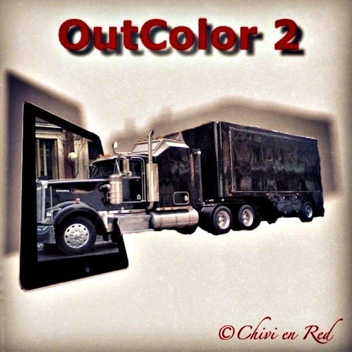 Probando aplicación OutColor2 Taking Photos Photooftheday FotoDelDia OutColor 2