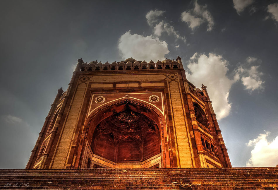 _soi Arch Architecture Built Structure Bulanddarwaza City Cloud - Sky Day Fatehpur Sikri Low Angle View Mughalarchitecture No People Outdoors Sky Travel Destinations Triumphal Arch UttarPradesh