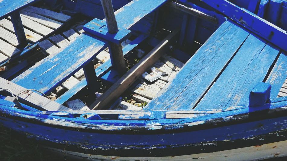 No People Day Nautical Vessel Blue Close-up Boat Wood - Material Wood Old Old Boat Old Boats Ruins Old Wood Boat