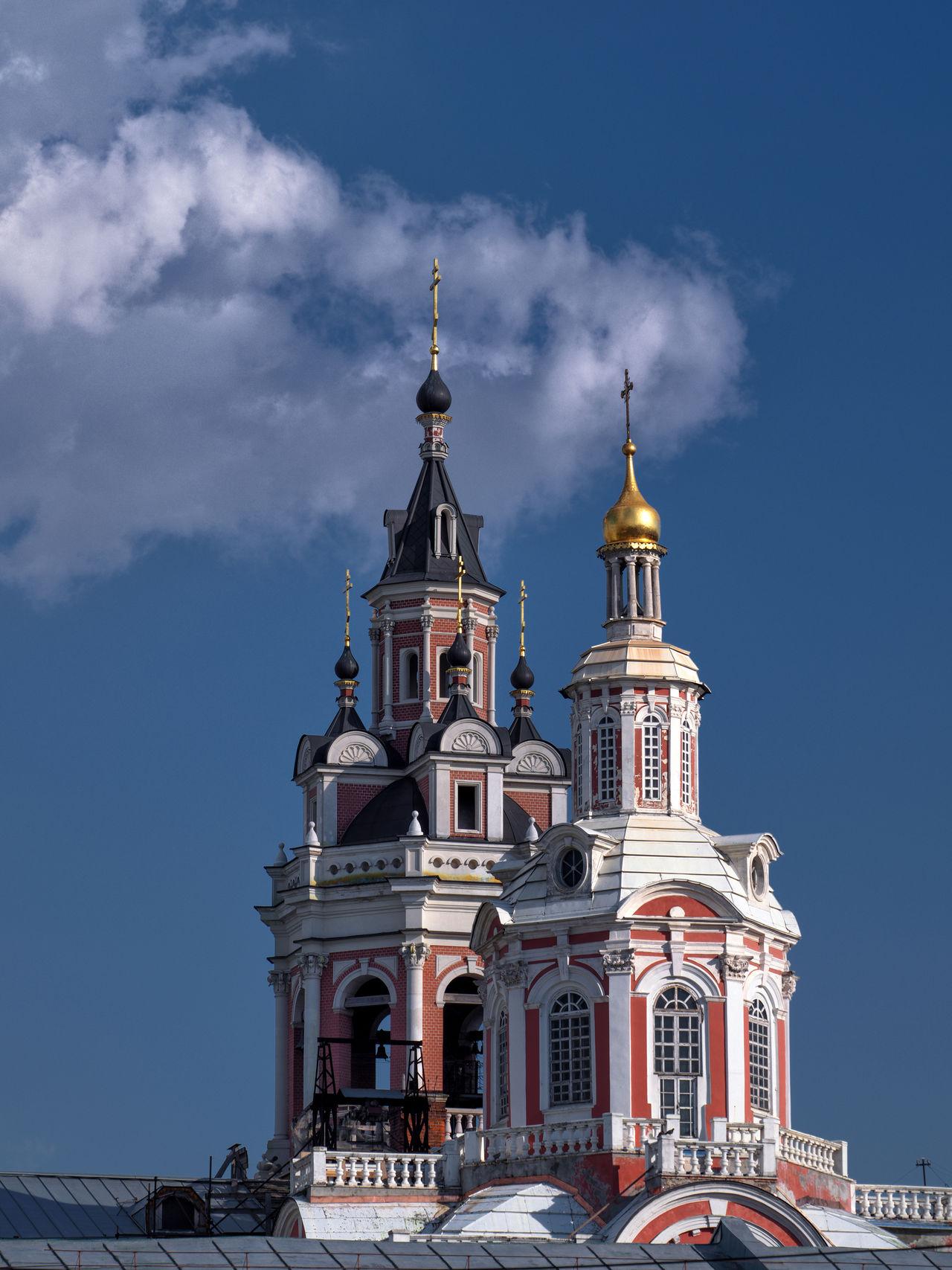 The Cathedral of the Holy Savior's image, Russia, Moscow, Nikolskaya street, Church, faith Church Churchhh. Moscow Nikolskaya Street Russia Summer The Cathedral Of The Holy Savior's Image Tourism Vacation