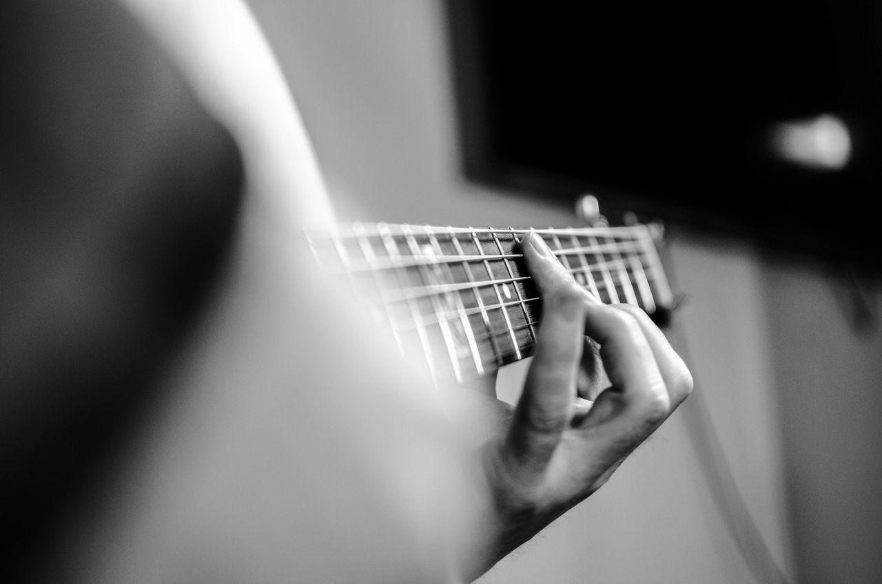 Beautiful stock photos of guitar, Cropped, Germany, Guitar, Hobbies