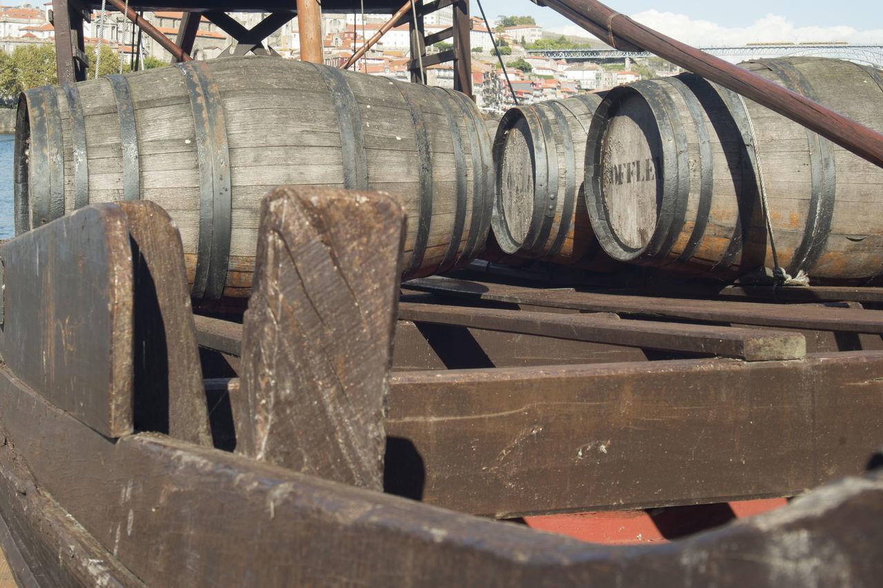 no people, wood - material, day, industry, barrel, wine cask, indoors
