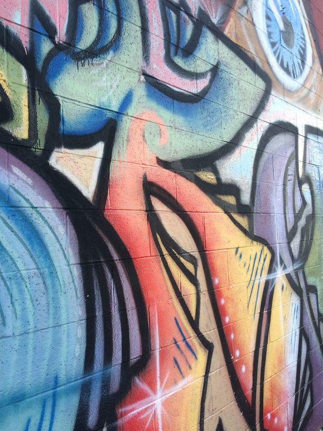 Graffiti Tattoo Shop Full Frame Multi Colored Art Architecture And Art