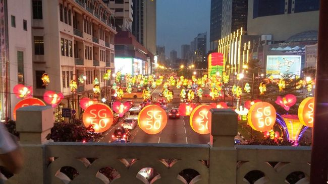 The Changing City Chinatown Lanterns Lanternfestival 50SG Singapore Night Colorful Season