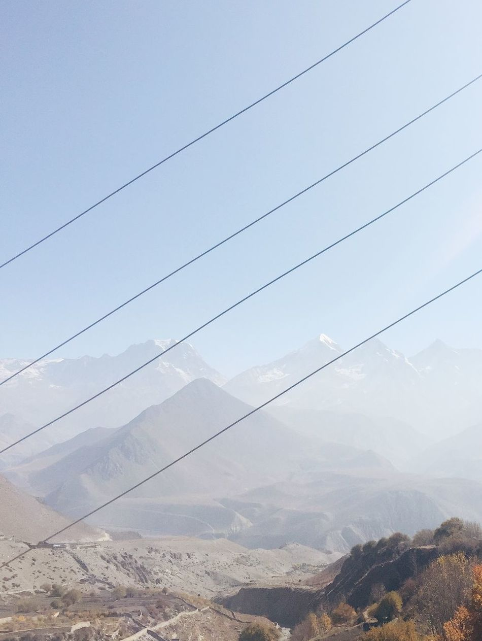 Beautiful stock photos of annapurna, Annapurna Circuit, Annapurna Range, Beauty In Nature, Cable