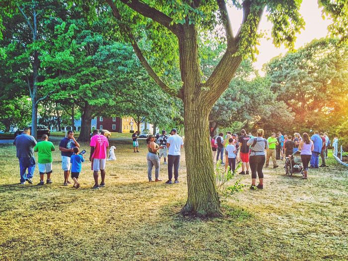 "Cries of ""Wartortle' were heard across the land.... I people watch as the boyfriend play Pokémon Go. Stratford Stratford CT Pokémon Pokemon Go Pokemon♥♥♥♥ PokemonGo Academy Hill New England  USA People People Watching People Photography People Of EyeEm People Together Summer Summertime July Outside Outdoors Golden Hour"