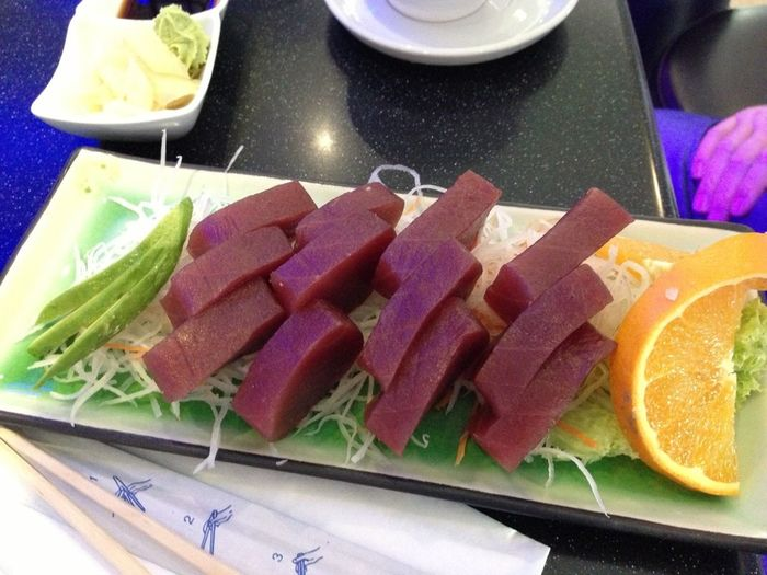 Food Porn Only In Berlin Sashimi  Brickporn