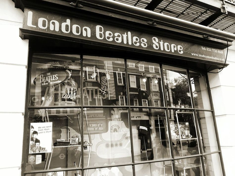 Text Western Script Architecture Built Structure Window Building Exterior Sign Board London Travel Traveling Tourism City Road City Life Low Angle View Journey Beatles Beatles Inspiration Monochrome Photography London Lifestyle