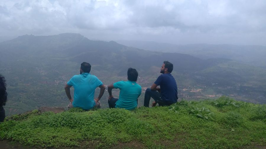 Mountain Range Togetherness Outdoors