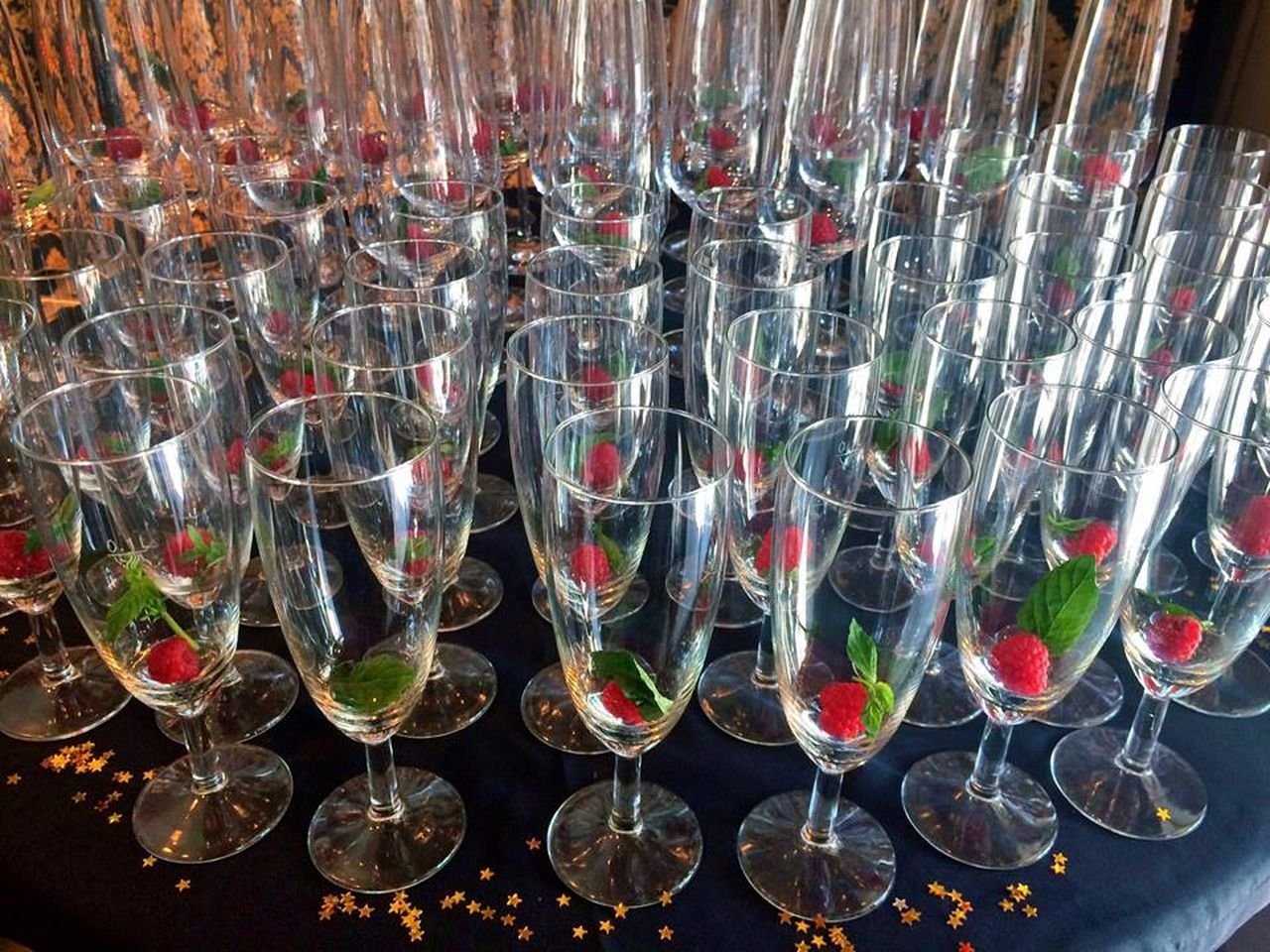 Arrangement Champagne Drinking Glass Gala Indoors  Mint No People Rapsberries Wine Wine Glass Wine Moments Wineglass