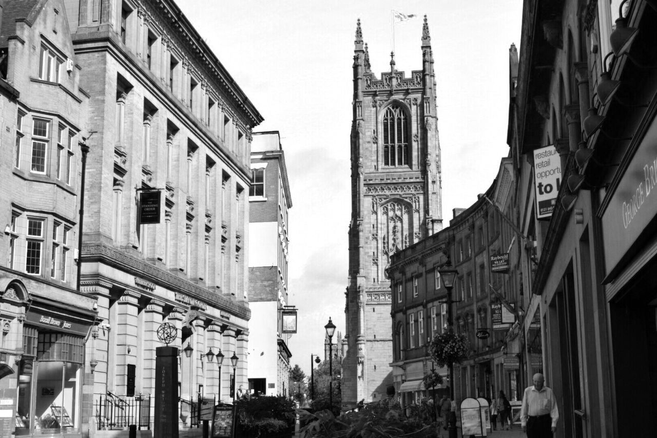Urban Exploration Blackandwhite Blackandwhite Photography Black And White Black & White Black And White Collection  Black And White Photography Black&white Streetphotography Street Photography Derby Clouds Architecture