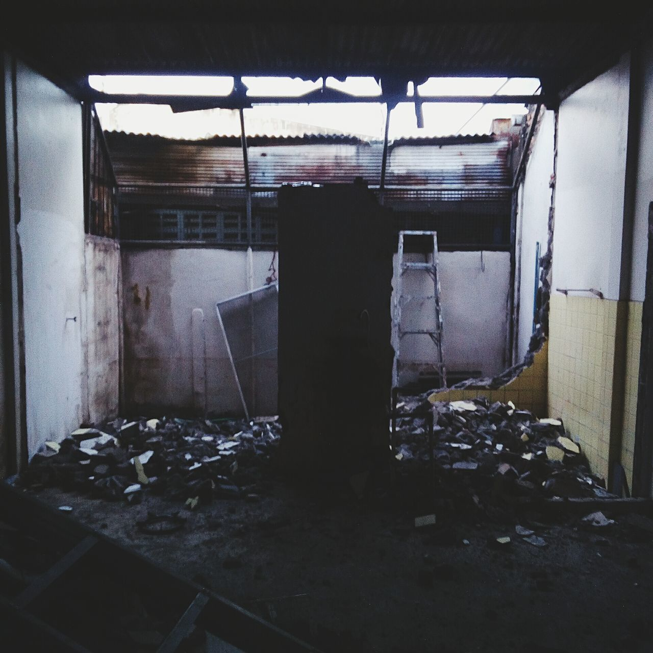 abandoned, obsolete, run-down, damaged, indoors, no people, built structure, bad condition, architecture, day