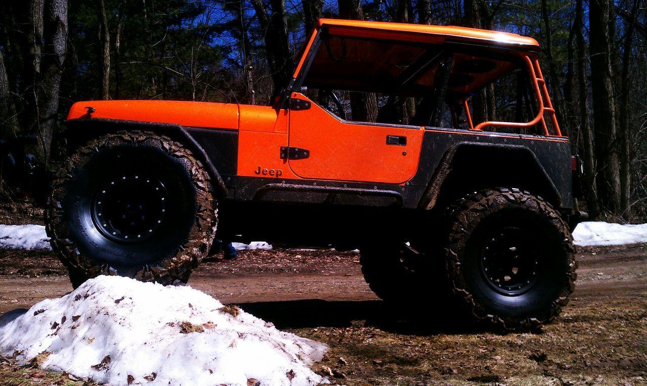 Cheese! Enjoying Life Matte Black Orange Original Jeep Wrangler